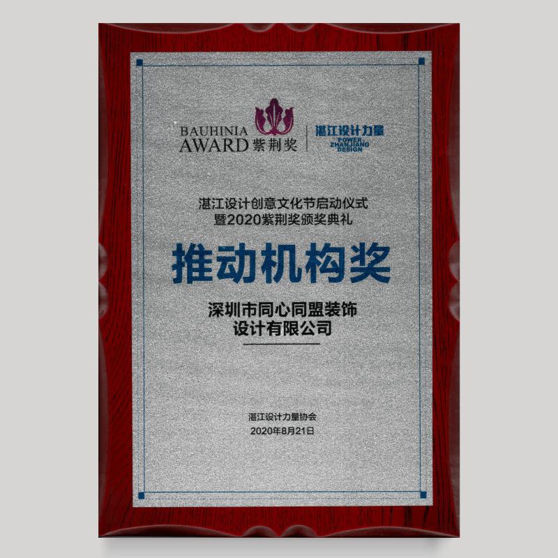 2020湛奖设计力量推动机构奖